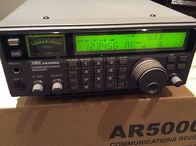 Aor 50000A Communications Receiver Short Wave Radio