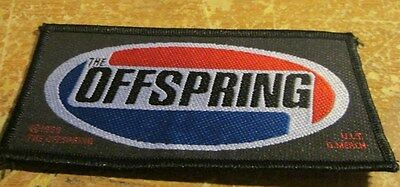 Offspring Collectable Vintage Patch  Woven  English Picture   Punk
