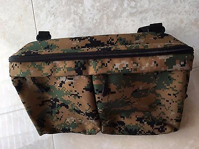 New Bugaboo Compatible Universal Stroller Organizer Digital Woodland Camo Color