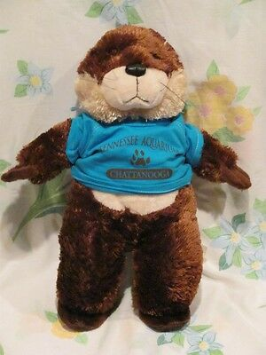 Tennessee Aquarium Plush Otter With T Shirt Tag Chattanooga TN Stuffed