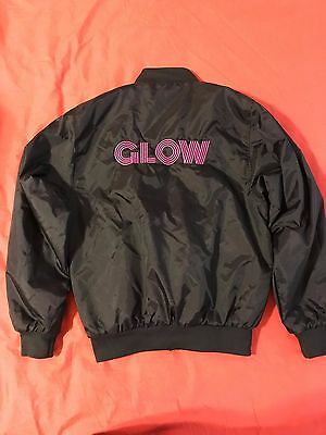 Netflix GLOW Bomber Jacket - Extremely Rare - Small S - Alison Brie, Marc Maron