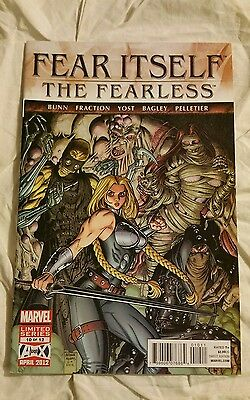 Fear Itself The fearless #10 of 12 Comic Book Marvel april 2012