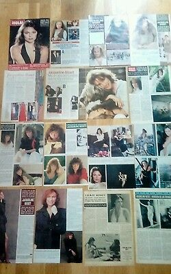 Jacqueline Bisset  1970s/00's Spanish Clippings 40 photos