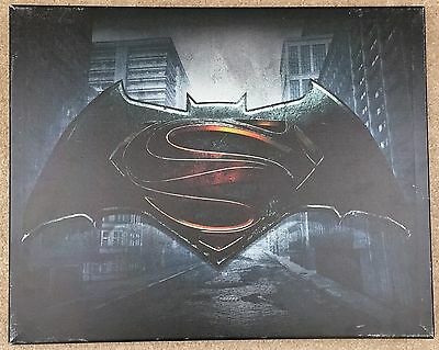 LIMITED EDITION Artissimo Designs Batman v Superman Canvas Painting
