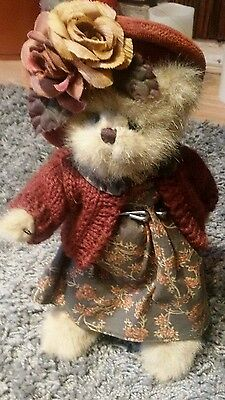 *Rare* The Bearinghton Collection teady bear Addie 11in