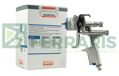 Spray gun SATA JET 5000 RP 1.3 mm painting refinish airbrush body clear warranty