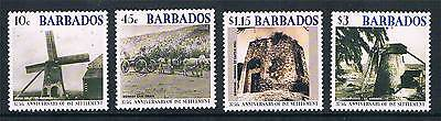 Barbados 2002 Anniv.of First Settlement SG1215/8 MNH