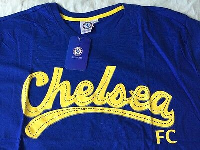 Chelsea Fc blue t-shirt  2XL size. New with tags.