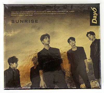 DAY6 - SUNRISE (Vol.1) CD+Photobook+Photocard+Poster+Free Gift K-POP