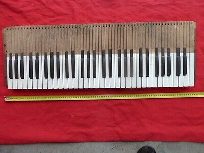 Piano, Organ Keyboard off Antique Packard Pump Organ.  Display. Studio.