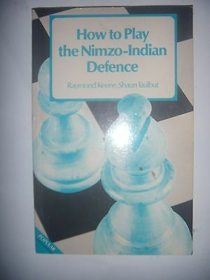 CHESS ECHECS: How to play the Nimzo-Indian Defence, 1982, BE