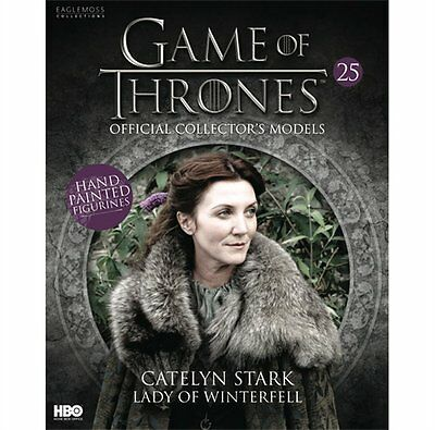 Game of Thrones Official Collectors Models Catelyn Stark #R13 - Issue 27 Used
