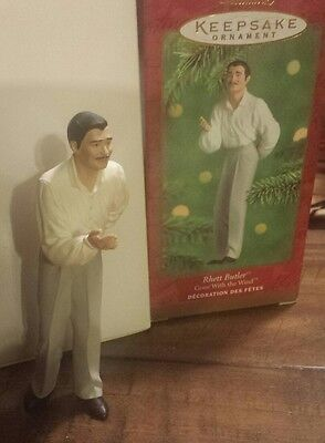 Handcrafted Hallmark Gone with the wind Rhett the Ornament