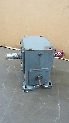 Ohio Gear B B325 20:1 Ratio 3 Way Right Angle Gearbox Speed Reducer 4.27Hp