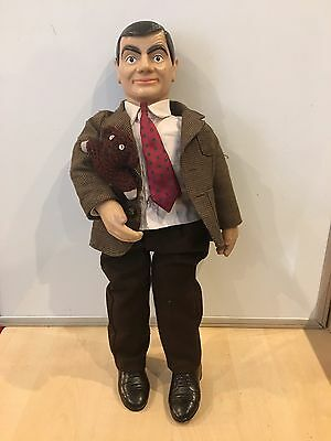 MR BEAN DOLL/Plush , Hard To Find. 21 Inches Small Tear