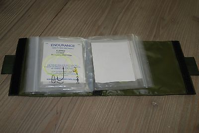 Waterproof pouch containing 12 endurance pre made sea fishing rigs