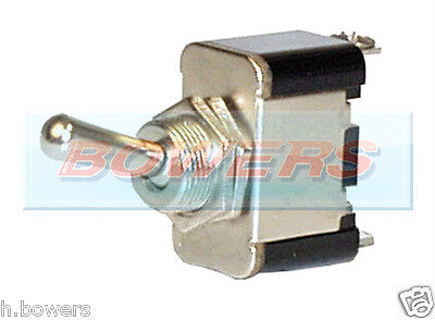 12V Heavy Duty 25A Universal Metal Spring Momentary On/off/on Toggle Switch