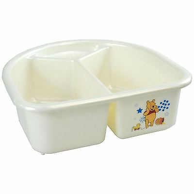 Top N Tail Wash Bowl Baby Design Nursery Winnie The Poo Bear 2 Compartments
