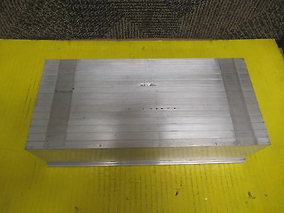 "NO NAME ALUMINUM HEAT SINK SYNC 12-1/5""x 5-7/8""x 3-1/4"""