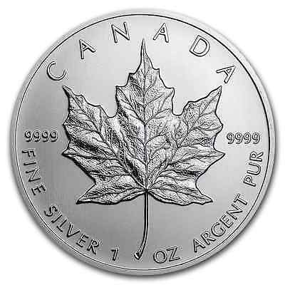 1 oz Silver Maple Leaf - 1 oncia argento Maple Leaf