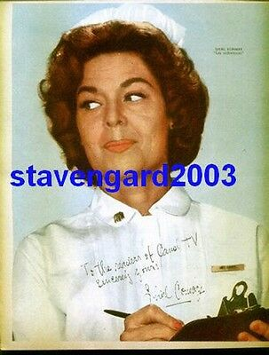 SHIRL CONWAY  The Nurses  SIGNED POSTER Argentina 1960's