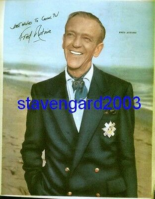 FRED ASTAIRE Signed Poster Argentina 1960's