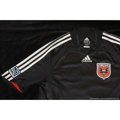 DC United ADIDAS 2007-2008 Away Football Shirt SMALL S