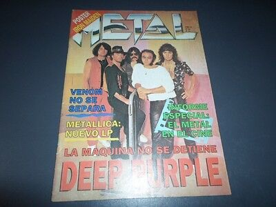 DEEP PURPLE Ritchie Blackmore Metal Magazine # 94 Argentina