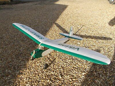 Old Timer 3ch Plane Astro Viking SHORT KIT CNC Routed **OPTION of Bent UC**