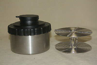 STAINLESS STEEL 8oz FILM DEVELOPING TANK WITH 35mm REEL 7293