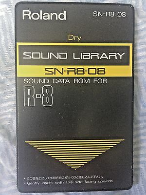 "Roland SN-R8-08 - ""Dry"" sound card for Roland R8 and R8M"