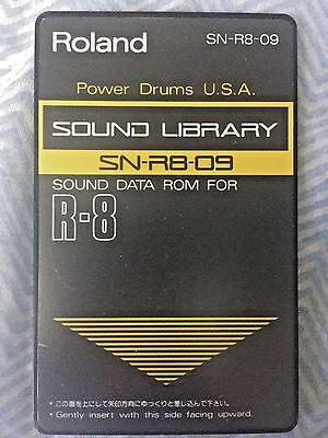 "Roland SN-R8-09 - ""Power Drums USA"" sound card for Roland R8 and R8M"