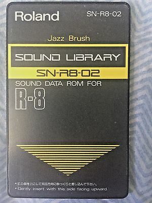 "Roland SN-R8-02 - ""Jazz Brush"" sound card for Roland R8 and R8M"