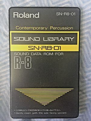 "Roland SN-R8-01 - ""Contemporary Percussion"" sound card for Roland R8 and R8M"