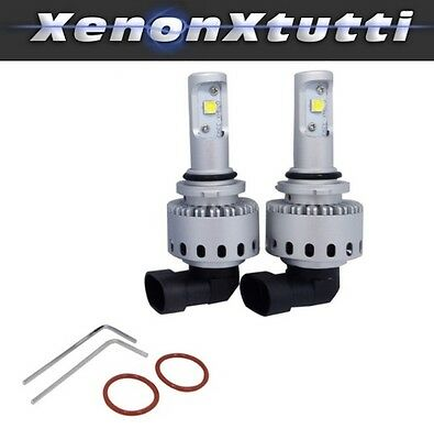 Kit Led Hir2 9012 6000K Full Canbus 12000 Lm Auto Moto Lampade All In One Slim