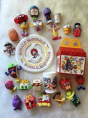 Vintage McDonald's Lot Fisher Price Happy Meal Fry Guys McNugget Buddies