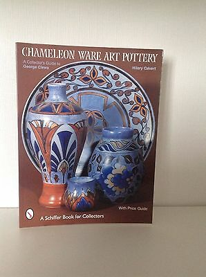 Chameleon ware art pottery book. A collectors guide to George Clews Art Deco.