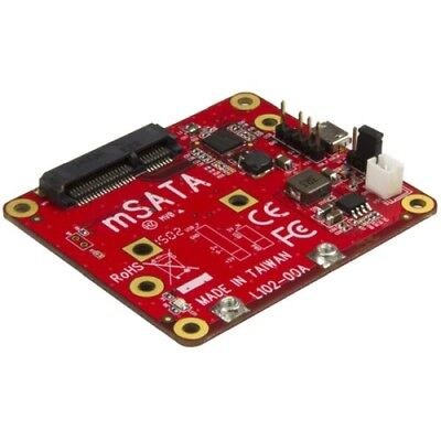StarTech PIB2MS1 USB to mSATA Converter for Raspberry Pi and Development Boards
