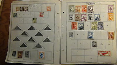 Mozambique stamp collection on Minkus pages to '87