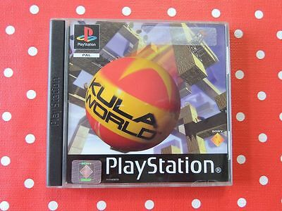 Kula World Playstation 1 PS1 PSX in OVP mit Anleitung