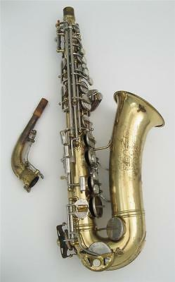 Vintage 1967 Conn 6M Professional Model Alto Saxophone Exc Playing Condition
