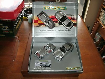 Scalextric 1/32 scale Mercedes set