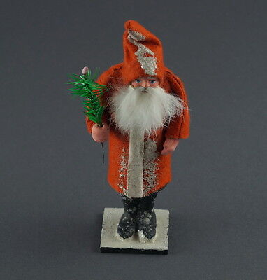 Santa - Belsnickle  - Nikolaus - Candy Container, Germany ca. 1940  (# 5123)