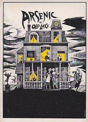 Arsenic and Old Lace Program  1986 Broadway Revival   Stapleton, Ross, Sandy
