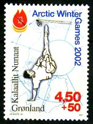 Groenland - Greenland 2001 jeux hiver arctiques Yvert n° 344 neuf** 1er choix