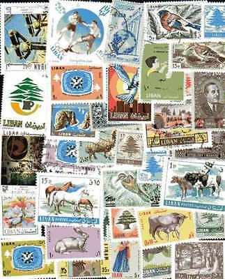 Liban - Lebanon 200 timbres différents