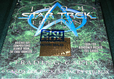 1994 STAR TREK Sky Box MASTER SERIES Trading Cards - NIB