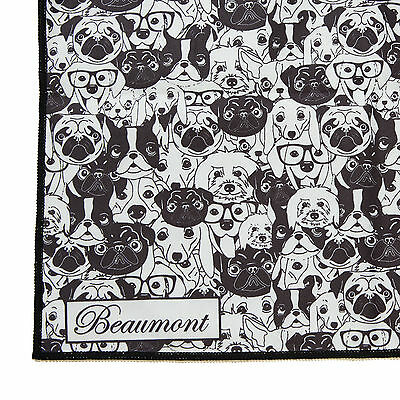 Beaumont Microfibre Cleaning Cloth - Old Dog - Flute Clarinet Sax Polishing