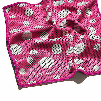 Bamboo Charcoal Clarinet Pull through swab - Pink Polka Dot - super absorbent