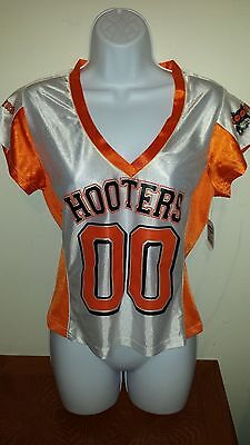 "Lady's Hooters ""00"" Football Jersey   Shirt Brand New! Size Small."